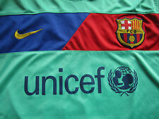 Rare Nike DRI-FIT FC Barcelona Authentic Retro 2010 Game Jersey - FCB #13 Pinto