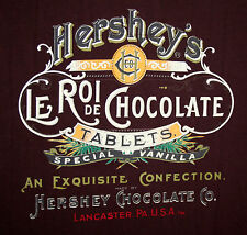 Hershey's Le Roi De Chocolate Lancaster PA Brown Polo Shirt New NOS 2010 Tags MD