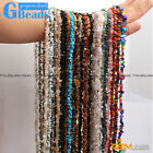 "5-8mm Multi-Color Chips Gemstone Loose Beads Strand 15""& 34"" Free Shipping"