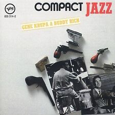 Gene Krupa & Buddy Rich Compact Jazz - CD