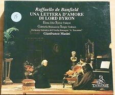 BANFIELD - UNA LETTERA D'AMORE DI LORD BYRON - MASINI - CD COME NUOVO (MINT)