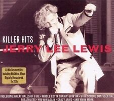 Jerry Lee Lewis Killer Hits 2-CD NEW SEALED Remastered Great Balls Of Fire+
