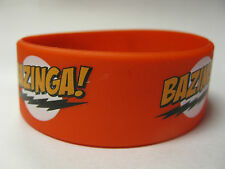 BAZINGA  From Big Bang Theory SILICONE RUBBER WRISTBAND