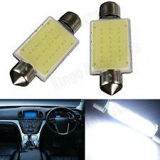 10Pcs 36mm 12V 3W COB Car LED Bulbs Interior Dome Festoon Light Lamp White