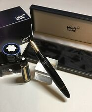 Montblanc Meisterstuck 149 Fountain Pen Circa Late 1970's With NEW 18K Fine Nib