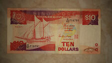 SHIP Series $10 Singapore old note