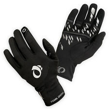 NEW Pearl Izumi Men's Thermal Conductive Gloves Full Finger Bicycle Black Medium