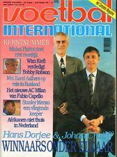 V.I. 1991 nr. 51/52 - PLATINI/CRUIJF/CAPELLO & AC MILAN/TOTTENHAM HOTSPUR
