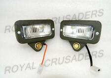 NEW WILLYS JEEP MILITARY FRONT REAR PARKING LIGHT PAIR