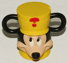 DISNEY on ICE - MICKEY MOUSE - Plastic CUP w/ hinge Open / Close LID *NICE