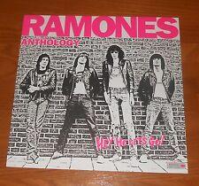 Ramones Anthology Hey Ho Let's Go! Poster 2-Sided Flat Square Promo 12x12 RARE