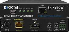 HDMI 4K2K HDBaseT CAT6 Extender Transmitter 330ft POH/POE LAN IR RS232 SB-6335T5