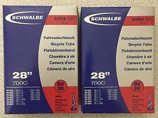 2x Schwalbe Schlauch | Extralight | 65gr | 18/25-622 | S40 | Sclaverand