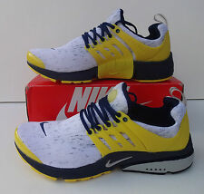 Nike Air Presto Mens UK Size 8.5 Yellow Trainers Shoes Shox - BRAND NEW