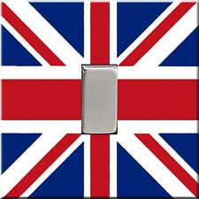 Brand New - Union Jack Flag Acrylic Light Switch Cover Ideal Childrens Bedroom