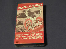 Reefer Madness(NEW) + Birth of a Nation + Stars and Stripes Forever (VHS x3) LOT