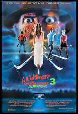 Horror: A Nightmare on Elm Street 3 * Dream Warriors  * Movie Poster 1987
