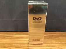 MASCULINE DOLCE & GABANNA EDT 50 ML / 1.7 OZ SPRAY MEN SEAL BOX ORIGINAL RARE