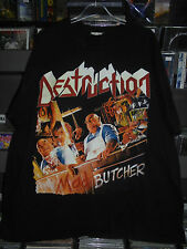 DESTRUCTION- Mad Butcher SHIRT XL 2001 OFFICIAL VINTAGE KREATOR SODOM CD LP RARE