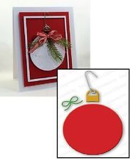 Impression Obsession ROUND ORNAMENT Die DIE092-O Christmas
