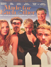 Made for Each Other (DVD, 2010)Sealed,WS,Comedy,Raunchy,Adult Humor,Cinemax