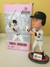 Chris Johnson RARE Bobblehead Astros Pink Breast Cancer 2011