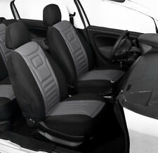 2 GREY FRONT CAR SEAT COVERS PROTECTORS FOR CHEVROLET CAPTIVA