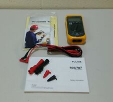 Fluke 705 4-20mA Loop Calibrator with test leads (M)