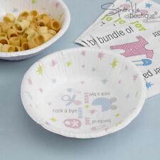 Baby Shower/Christening PAPER BOWLS -Unisex Party- FULL TINY FEET RANGE IN SHOP!