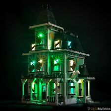 LIGHT MY BRICKS - LED Light Kit for LEGO Haunted House set 10228 Lego LED Kit