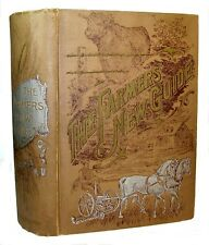 FARM GUIDE Victorian ANTIQUE 1896 Home COOKBOOK Horse Cattle BEE KEEPING Dogs