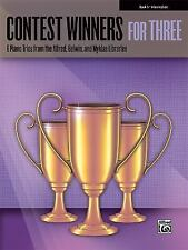 Contest Winners for Three, Bk 5: 6 Piano Trios from the Alfred, Belwin, and Mykl