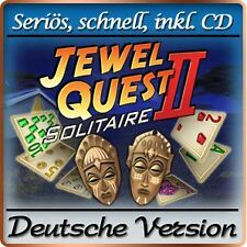 Jewel Quest Solitaire II 2 DELUXE - Windows XP / VISTA / 7 / 8