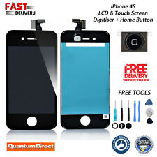 BLACK Replacement FOR iPhone 4S LCD & Digitiser Touch Screen Assembly + Tools