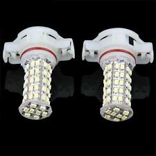 2 x White 5202 H16 2504 PSX24W 68 LED Bulbs For DRL Fog Daytime Running Lights