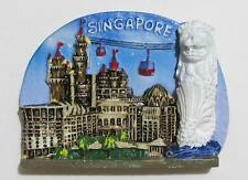 ▓ SINGAPORE BLUE MERLION (MBW9) FRIDGE / REF MAGNET COLLECTIBLE SOUVENIR