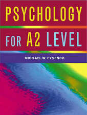 Psychology for A2 Level by Michael W. Eysenck, Cara Flanagan (Paperback, 2001)