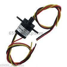 3 Wires 10A OD22mm 500RPM  Large Current Slip Ring for Wind Power Generator
