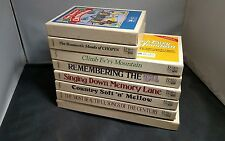 Set of 8x Reader's Digest Music Box Sets Brand New Cassette Tapes Chopin Country