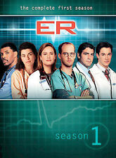Sealed  ER - The Complete First Season (DVD, 2003, 4-Disc Set, Four Disc Set)