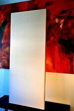 "Large Blank Stretched Canvas, 58"" x 24"" (4'10"" x 2') Triple Gesso"