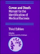 Cowan and Steel's Manual for the Identification of Medical Bacteria, , Good Book