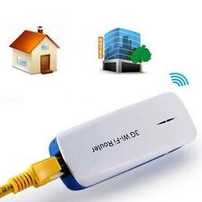 Mini Portable 150M 5in1 3G WIFI Mobile Wireless Router With Hot Power Bank BU U1