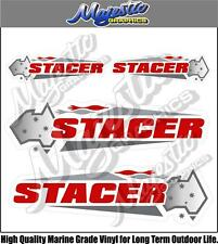STACER - DECAL 4 PACK - BOAT DECALS