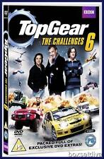 TOP GEAR THE CHALLENGES 6 - CHALLENGES 6 *BRAND NEW DVD*