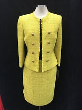 TAHARI BY ARTHUR LEVINE SKIRT SUIT/SIZE 6/RETAIL$280/LINED/TWEED/