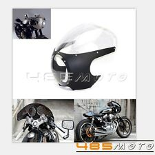 "5 3/4"" Motorcycle Fairing Front Mask For Cafe Racer Headlamp Fairing Windshield"
