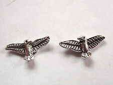 Eagle Spread Wings Stud Earrings 925 Sterling Silver Corona Sun Jewelry