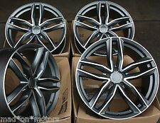 "18"" ALLOY WHEELS FITS AUDI A3 S3 03  A4 S4 95  A6 S6 TT 06  Q3 Q5 RS 6C GMF"