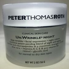 Peter Thomas Roth UN-WRINKLE NIGHT For Normal to Dry Skin 2.0 oz unbox